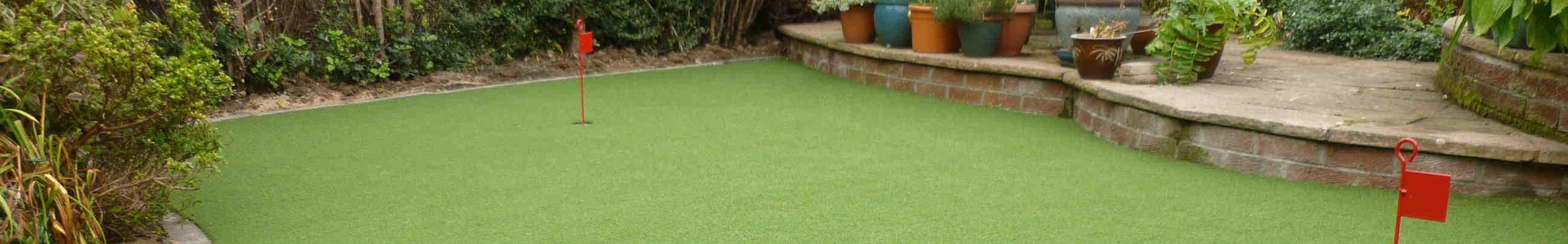lawn turf artificial grass install