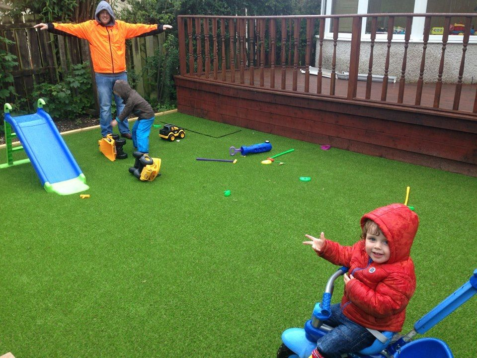 artificial grass edinburgh play area
