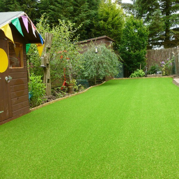 Artificial Lawn Maintenance In Autumn