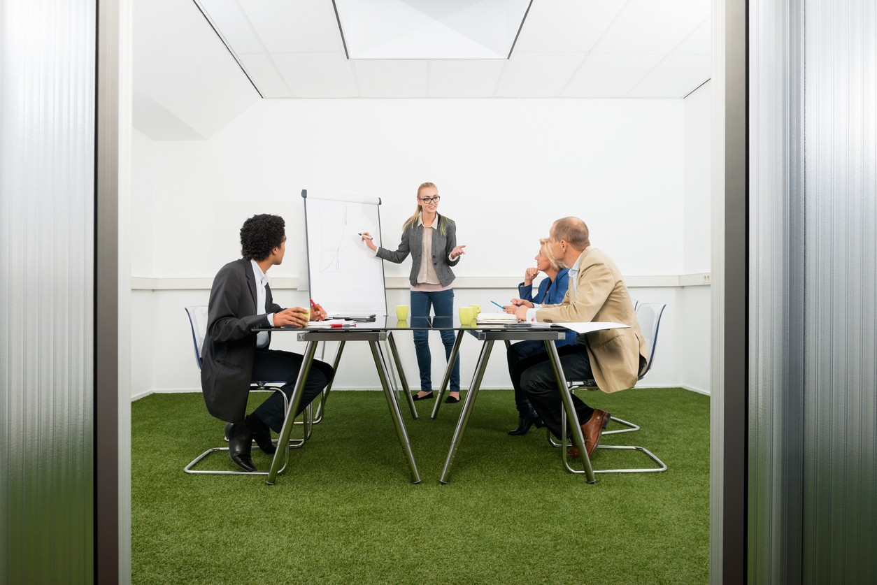The Benefits Of Artificial Grass In Your Office